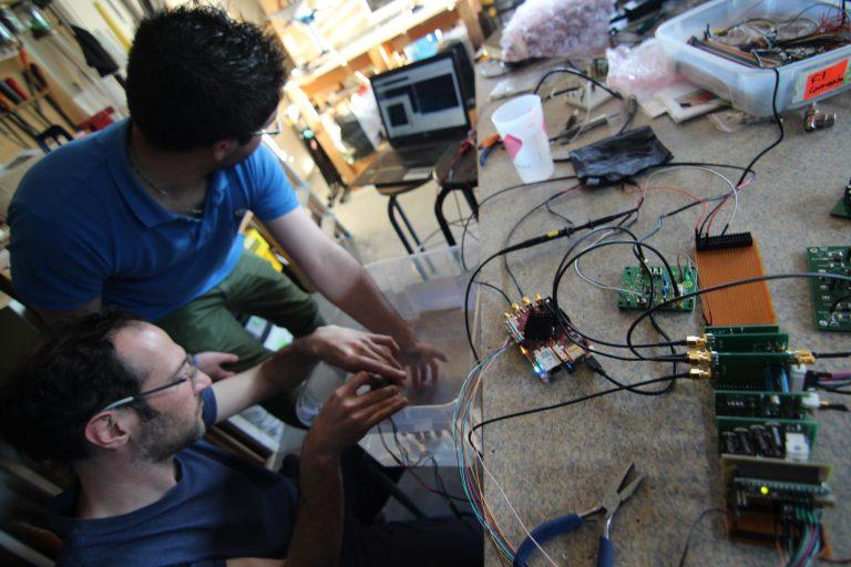Shu Lea Cheang et Echopen hackent l'échographie chez Labomedia