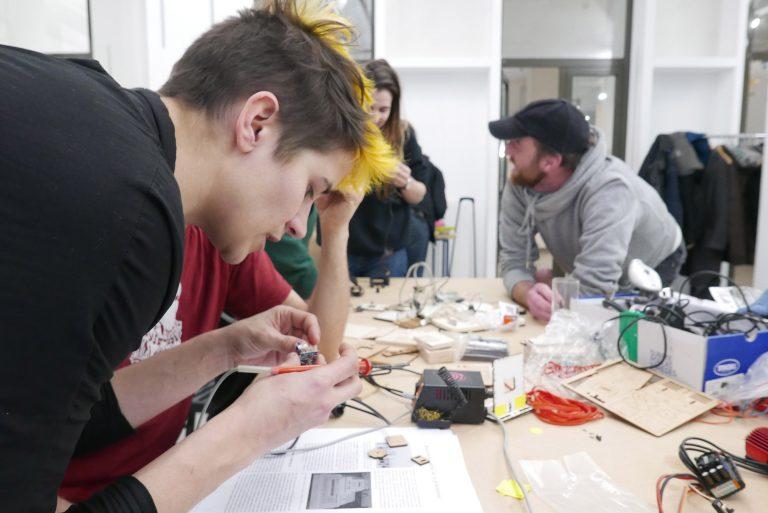 Du son et de la friction art-science au festival Open Source Body