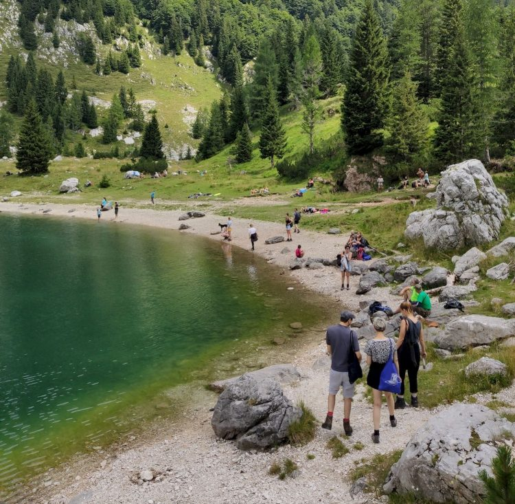 Hacking and Hiking in Triglav, Slovenia