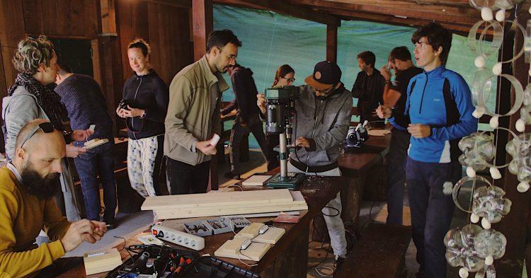 Une Croatie bucolique et électrique au makercamp Electric Wonderland