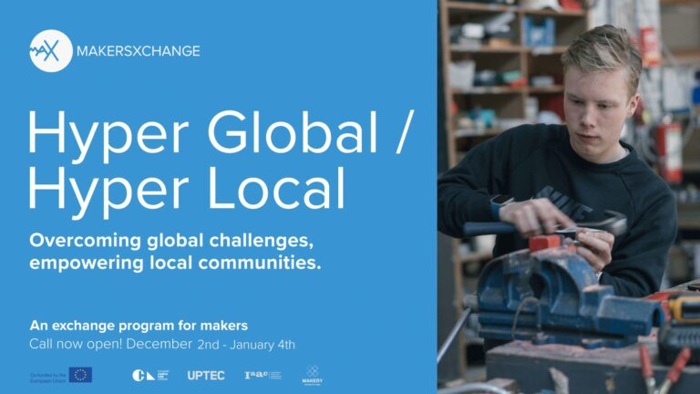 Hyper Global / Hyper Local : a call for international online makers' exchanges